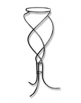 Macetero en espiral de forja 125