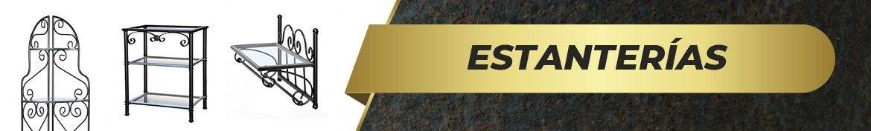 Estanterías de Forja | Tienda Online | Venta España ✓ | www.elherrero.es