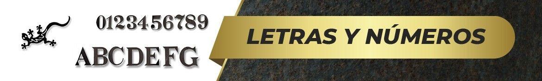 Letras y Números de Forja | Tienda Online ✓ | www.elherrero.es