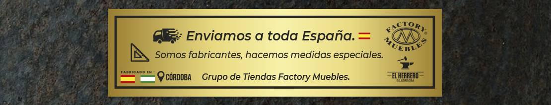 Envío a toda España, fabricamos en la medida que necesite.